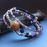 MemoryWire | 3-reihig violet, gold